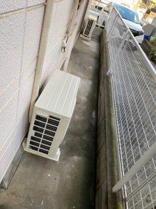 中野区エアコン工事 真空引き