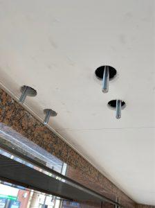 中野区,天吊り,壁掛け、コンクリートアンカー