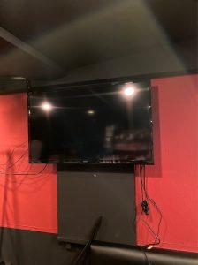 杉並区テレビ壁掛け工事