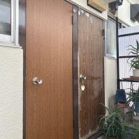 杉並区 玄関ドア設置