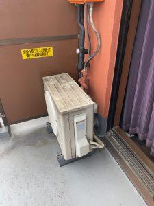 練馬区エアコン工事 隠蔽配管