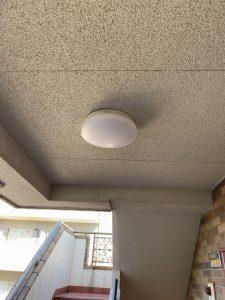 杉並区 アパート共用灯、マンション共用灯交換