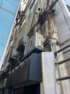 杉並区業務用エアコン工事、杉並区業務用天カセット工事
