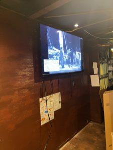 薄型テレビ壁掛け工事、テレビ壁掛け工事