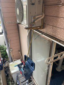 板橋区不動産管理会社エアコン入れ替え
