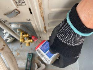 練馬区ガスチャージ、練馬区ガス補充、練馬区エアコンガスチャージ