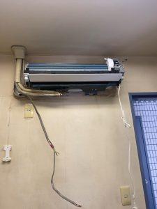 世田谷区エアコン隠蔽配管設置、世田谷区 エアコン隠蔽配管工事