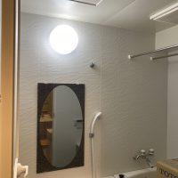 浴室照明器具交換