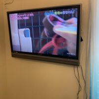 練馬区 テレビ壁掛け工事