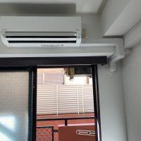 小平市エアコン設置、小平市室内カバー設置